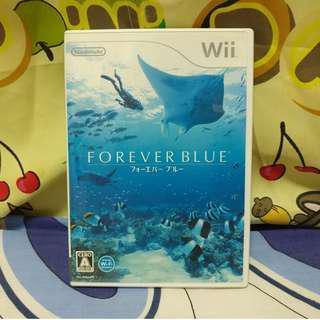 中古 日版 Wii Forever Blue