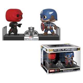 Marvel Movie Moments: Captain America vs Red Skull