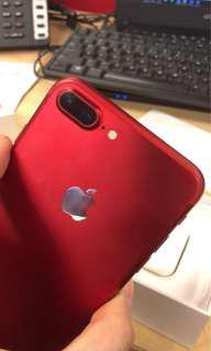 Iphone 7 Plus 128gb myset red