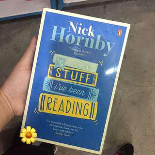 Stuff I've Been Reading by Nick Hornby (BRAND NEW)