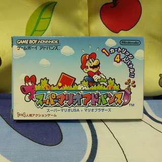 中古 GBA Game boy Advance Super Mario Advance 第一集