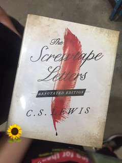 The Screwtape Letters by C.S. Lewis (Hardcover)