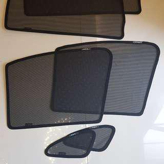 Mitsubishi ASX  Custom Made Magnetic Sunshades
