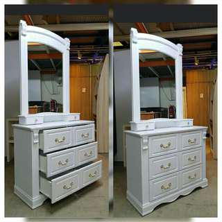Dressing Table european style INSTOCK!