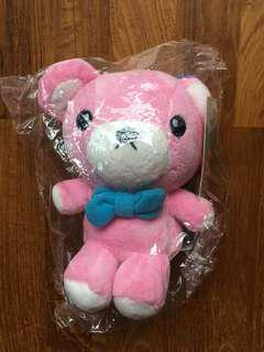 MapleStory Pink Clockwork Teddy Plushie Soft Toy