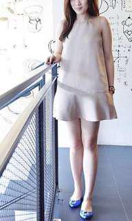 LANVIN Dress Beige