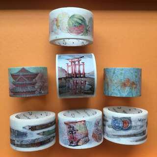 Assorted Thick Washi Tape