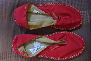 Havaianas espadrille ruby red