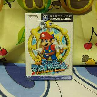 中古 日版 Gamecube 超級陽光瑪力歐 Super Mario Sunshine