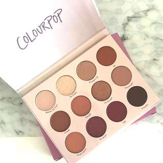 Colourpop Give it to me straight Palette