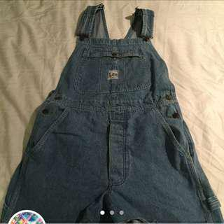 Vintage Lee Overalls would best fit size 8-10 amazing quality