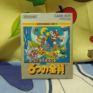 中古 日版 Gameboy Super Mario Land 2 (無說書)