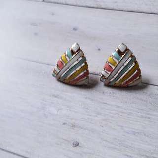 🚚 甜美彩釉耳環