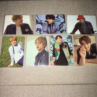 BTS 2017 SEASONS GREETINGS CARD FULL SET