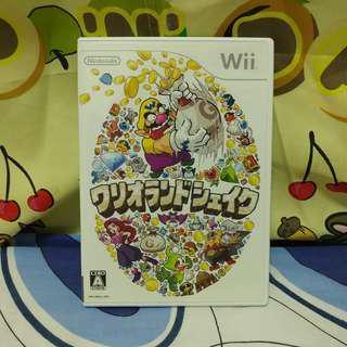 中古 日版 Wii Wario Land Shake It