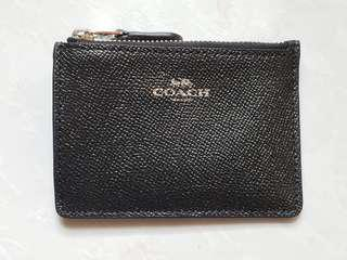 Coach card and coins holder