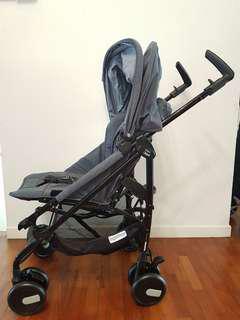 Peg Perego Pliko Denim Baby Stroller