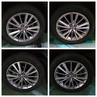 高雄 豐田 Altis 11代 原廠16吋輪圈 (無撞凹傷) 205/55/R16 四輪~普利司通T001 可直上免平衡  只要:5999元 [自取]