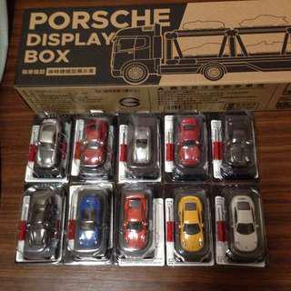 🚚 7-11 Porsche 911經典模型車 全套 不含拖車