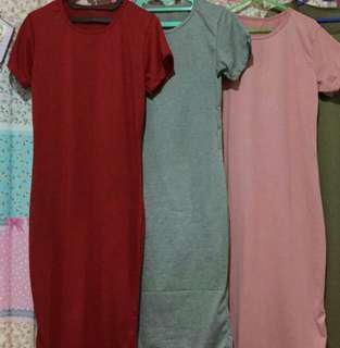 Baju murah 3pcs cuma 50rb #dressbodycon