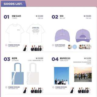[EMS PO] ASTRO - Rise Up Photo Exhibition Official Goods