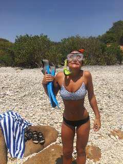 Peony bikini top