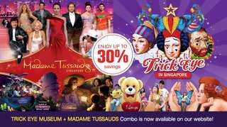 Madam Tussauds and Trick Eye Combo