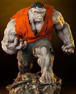 Sideshow Grey Hulk Exclusive