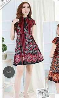 Red Flare Batik