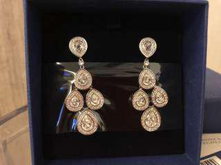 Swarovski Sensation Pierced Earrings