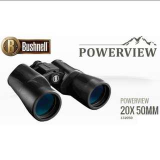 Bushnell Powerview Binoculars 20x50mm (132050)/ Ready stock!