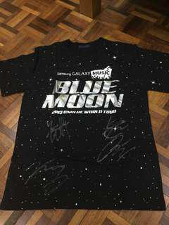 Blue Moon CNBLUE SIGNED SHIRT