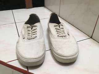 VANS Original Authentic True White