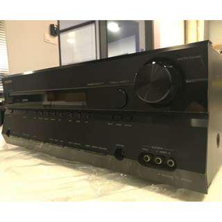 Onkyo TX SR606 7.1 Channel 210 Watt Receiver Amplifier