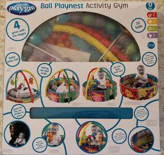 Playgro Ball Playnest Activity Gym