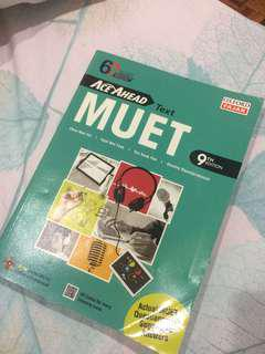 MUET Textbook 9th edition.