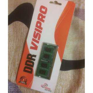 RAM LAPTOP 2GB DDR3 VISIPRO