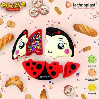 Lunchbox puzzle technoplast
