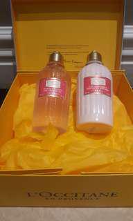 Loccitane Roses et Reines shower gel and body milk