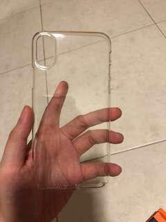 IPhone X caudabe clear crystal case