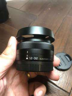 Panasonic 12-32mm F3.5-5.6 lens