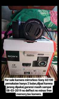 For sale sony mirroles A5100