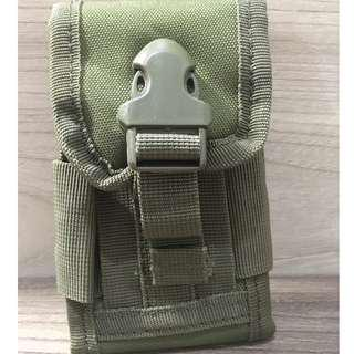 Pouch Green Army for Smartphone ukuran 4 inch