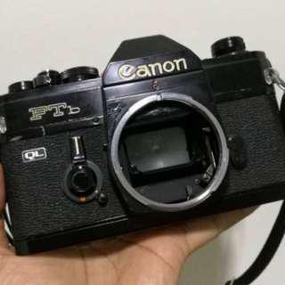 [Discounted: quick sale] Canon FTb QL film SLR camera body only