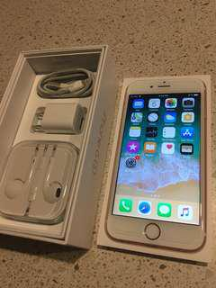 Apple iPhone 6s Rose Gold with box -MINT-