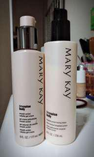 MARY KAY BODY BODY LOTION + CELLULITE GEL CREAM