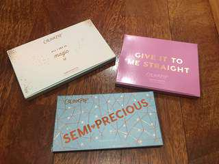 🆕Authentic Colourpop Eyeshadow Palette (Semi Precious, All I See Is Magic & Give It To Me Straight)