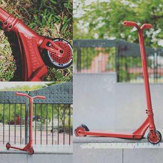 """Ethic Erawan """"Red Racer"""" Custom Scooter"""