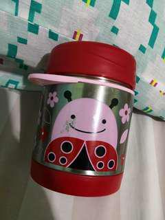 Skip Hop Insulated Food Jar - Ladybug