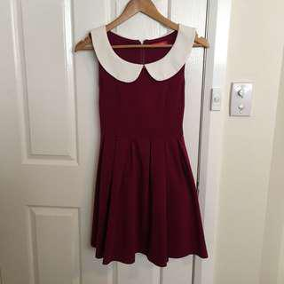 Size 8 maroon dress